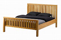 Vale Furnishers - Bedrooms - Juno 4ft 6in Bedstead